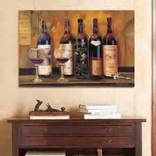 Wine Glass Wall Decor Wine Wall Art Pertaining To House Earthgrow