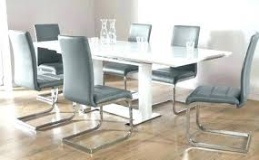 white dining room table extendable gray and white dining room chairs rosekeymedia com