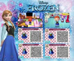 acnl qr code hair animal crossing new leaf qr anna from frozen by rasberry jam