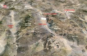 Death Valley Map Written In Stone Seen Through My Lens Death Valley Geology