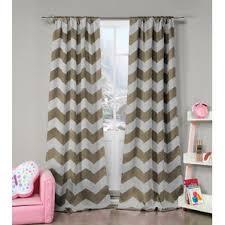 Pink Chevron Curtains Brown Chevron Curtains U0026 Drapes You U0027ll Love Wayfair