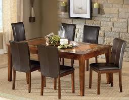 amazon com steve silver davenport slate table with 12 inch leaf