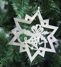 plexiglass engraving ornaments acrylic tree