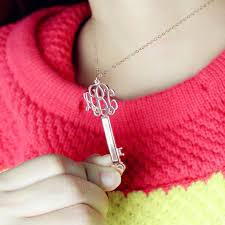 get name necklace 50 best personalized monogram necklace images on