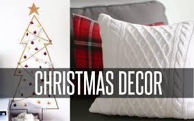 Diy Christmas Home Decorations Diy Christmas Room Decor Youtube
