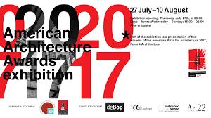 exhibition presentation of a new the european centre exhibition american architecture award 2017