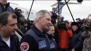 expedition 42 landing and post landing activities youtube