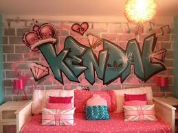 Decor Grafite Graffiti Room And Bedrooms - Graffiti bedroom