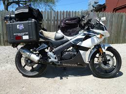 new model cbr bike florida to alaska and back on a honda cbr125r motorcycle com news