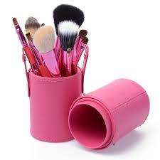 5 piece eye makeup brush kit organizer bag travel set xmy mk033