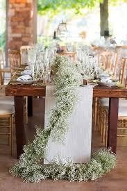 Wedding Table Decoration Ideas 23 Baby U0027s Breath Wedding Decor Ideas Classy And Romantic