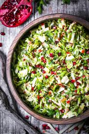 brussels sprouts and pomegranate salad what should i make for