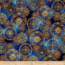 star gazing metallic celestial medallions navy gold discount