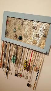 Picture Frame Hanging Ideas Best 25 Hanging Necklaces Ideas On Pinterest Diy Jewelry