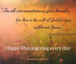 thanksgiving incarnate