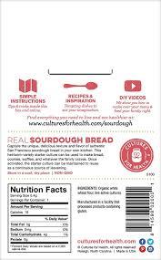 cultures for health san francisco sourdough starter organic non