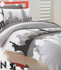 New York City Duvet Cover Old London Quilt Doona Duvet Cover Set Bedding Big Ben British