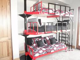 One Bed Bunk Bed Techethecom - Three bed bunk bed