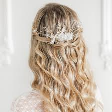 wedding hair combs new silver and ivory floral wedding hair comb vine aster