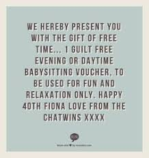 baby sitting vouchers great for a prizes for baby shower games
