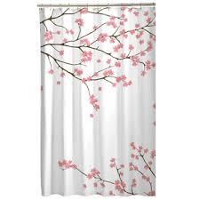 Cherry Blossom Curtains Cherry Blossom Shower Curtain Kohls Walmart Apartment