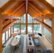 mountain homes interiors luxury timber frame mountain retreat in whistler idesignarch