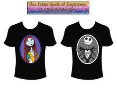 nightmare before couples raglan shirts together since