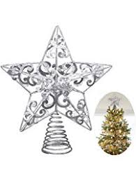 shop amazon com christmas tree topper