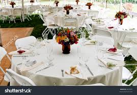 wedding table setup stock photo 9823450 shutterstock
