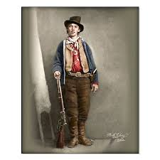 the only known picture of billy the kid it has been cleaned up and
