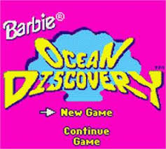 barbie u0027s ocean discovery nintendo game boy color games database