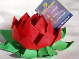 Lotus Blossom Origami - easy origami flowers origami roses and flowers whats better than