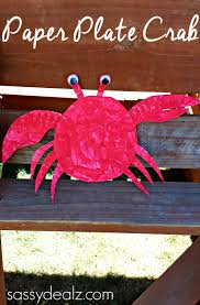 paper plate crab craft for kids crafty morning