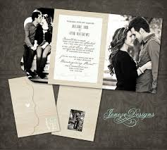 wedding invitation boutique tri folded design template only