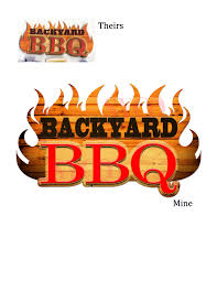 backyard bbq logo designed for cory thomas bbq pinterest