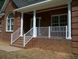 front porch railings installation u2014 bistrodre porch and landscape