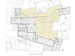 new museum floor plan museum der kulturen proyecto 2001 2004 realización 2008 2011
