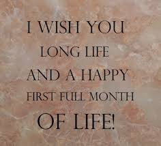 Samples Of Birthday Wishes Happy Full Moon Baby Wishes U2015what To Write In One Month Birthday