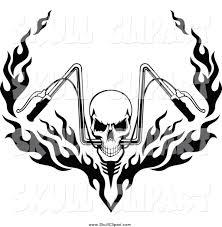 royalty free stock skull designs of company logo designs
