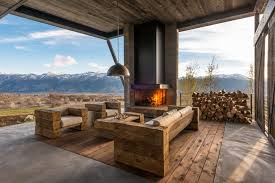 Mountain Outdoor Furniture - lovely rustic outdoor furniture image ideas with mountain wood ceiling