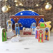 nativity scene sets traditional wooden nativity figures