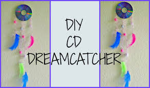 diy room decor cd dreamcatcher youtube