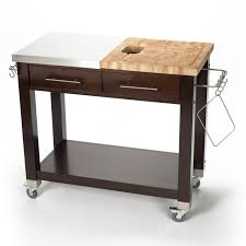kitchen islands on casters vintage kimball butcher block kitchen island on casters within