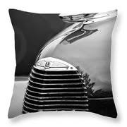 1940 lasalle series 52 grille emblem ornament 2312bw