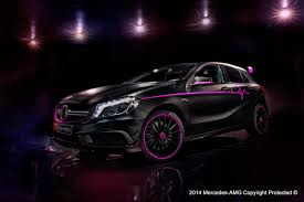 pink mercedes amg mercedes benz a45 amg one off erika 3 images meet u201cerika u201d u2013 the