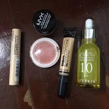Serum Nyx pre loved skincare and makeup elianto blusher its skin vitamin c