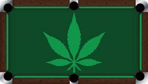 vivid pot leaf 9 u0027 pool table felt billiard cloth
