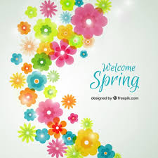 image of spring flowers spring flowers background vector free download