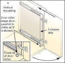 cabinet pocket door slides concealed door slide hardware for hiding the tv in the casework 18