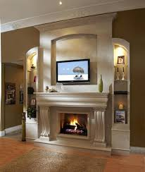 flat panel installed above fireplace smlf installing flat